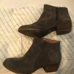 Lucky Brand Shoes - Lucky Brand Brown Ankle Cut Boots